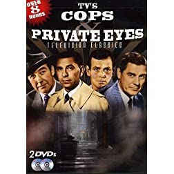 TV's Cops: Private Eyes - Over 8 Hours of Television Classics!