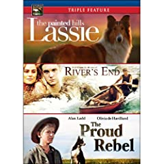 Family Adventure V.2: River's End / The Proud Rebel / Lassie: The Painted Hills