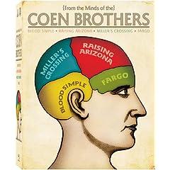Coen Brothers Collection (Blood Simple/Fargo/Miller's Crossing/Raising Arizona) [Blu-ray]