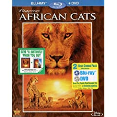 Disneynature: African Cats (Two-Disc Blu-ray / DVD Combo in Bly-ray Packaging)