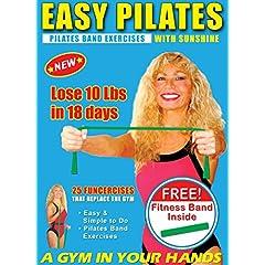 Funcercise Pilates Band Exercises & Pilates Band