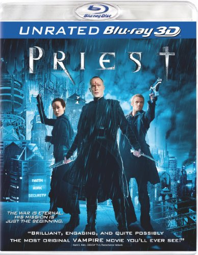 Priest (Unrated Version) [Blu-ray 3D]