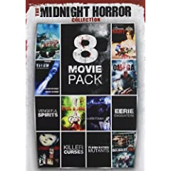 8-Movie Pack Midnight Horror Collection 1