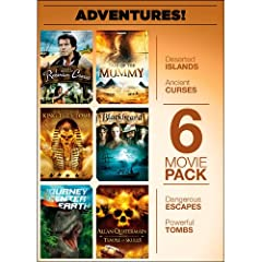 6-Movie Pack: Adventure!