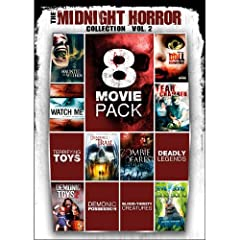 8-Movie Pack Midnight Horror Collection 2
