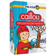 Caillou: Caillou's Holiday Favorites