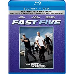 Fast Five (Two-Disc Blu-ray/DVD Combo + Digital Copy in Blu-ray Packaging)