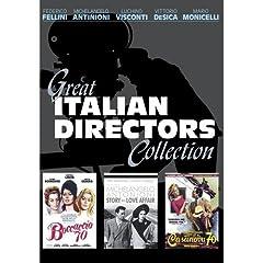 Great Italian Directors Collection (5-Disc Set) [Boccaccio '70, Casanova '70, Story of a Love Affair]