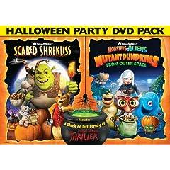 Scared Shrekless & Monsters Vs Pumpkins Halloween