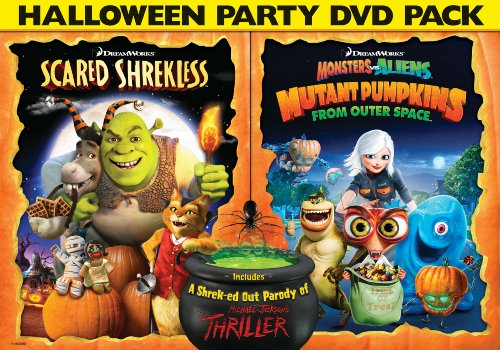 DreamWorks Halloween Double Pack (Scared Shrekless / Monsters Vs Pumpkins Halloween)