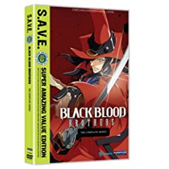Black Blood Brothers: Complete Series - Save
