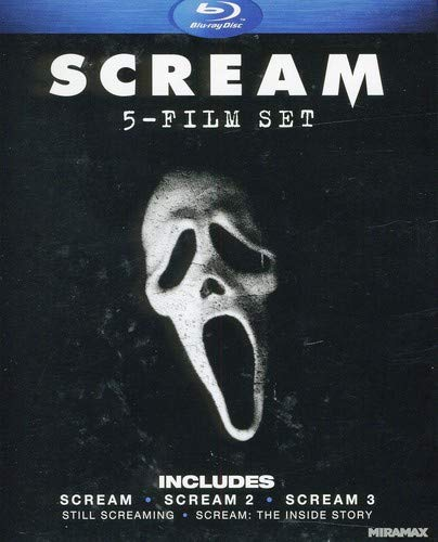 Scream Five-Film Set (Scream 1-3 + Two Documentaries) [Blu-ray]