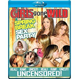 GIRLS GONE WILD Spring Break Sex Party [Blu-ray]