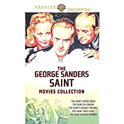 George Sanders Saint Movie Collection