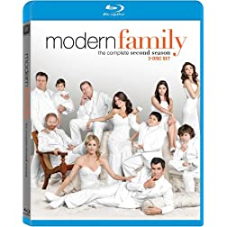 Modern Family: The Complete Second Season [Blu-ray]
