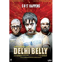 Delhi Belly (2011) (Aamir Khan Productions / Comedy / Hindi Film / Bollywood Movie / Indian Cinema /DVD)