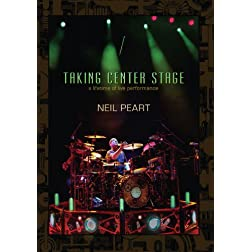 Neil Peart Taking Center Stage: Lifetime of Live Performances
