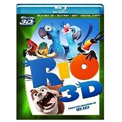 Rio (Four-Disc Blu-ray 3D/ Blu-ray/ DVD/ Digital Copy)