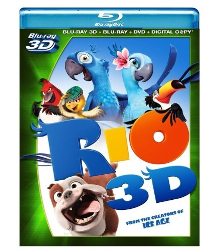 Rio (Four-Disc Blu-ray 3D/ Blu-ray/ DVD/ Digital Copy)