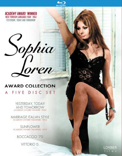 Sophia Loren: Award Collection [Blu-ray] (Yesterday, Today & Tomorrow / Marriage Italian Style / Sunflower / Vittorio D / Boccaccio '70)