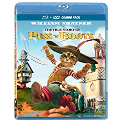 The True Story of Puss'n Boots [Blu-ray/DVD Combo]