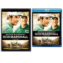 We Are Marshall (Blu-ray/DVD Bundle)