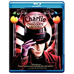 Charlie and the Chocolate Factory [Blu-ray]