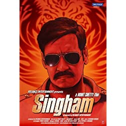 Singham (2011) (New Action Hindi Film / Ajay Devgn / Bollywood Movie / Indian Cinema DVD)
