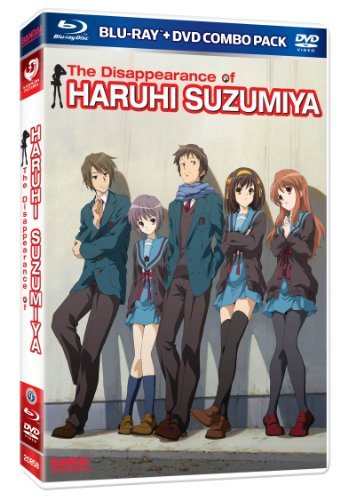 Disappearance of Haruhi Suzumiya [Blu-ray]