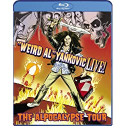 &quot;Weird Al&quot; Yankovic Live! - The Alpocalypse Tour [Blu-ray]
