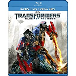 Transformers: Dark of the Moon (Two-Disc Blu-ray/DVD Combo + Digital Copy)