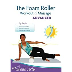 The Foam Roller, Workout & Massage - ADVANCED