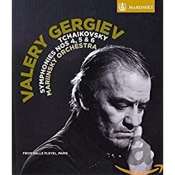 Tchaikovsky: Symphonies Nos.4-6 [Blu-ray]