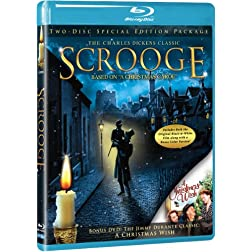 Scrooge - Blu-ray w/ BONUS 2nd Disc DVD: A Christmas Wish