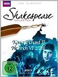Shakespeare Collection, Vol. 5: König Richard II/Heinrich VI Teil 2 (2 DVDs)