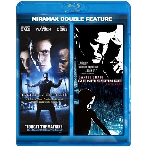 Miramax Double Feature: Equilibrium / Renaissance [Blu-ray]