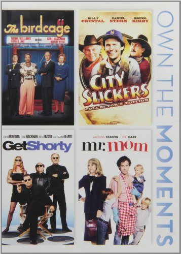Birdcage / City Slickers / Get Shorty / Mr Mom