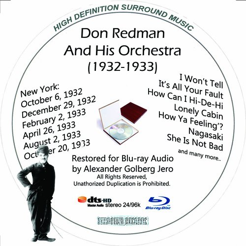 Don Redman (1932-1933) Restored for Blu-ray Audio