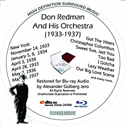 Don Redman (1933-1937) Restored for Blu-ray Audio