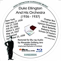 Duke Ellington And His Famouse Orchestra (1936-1937) Restored For Blu-ray Audio