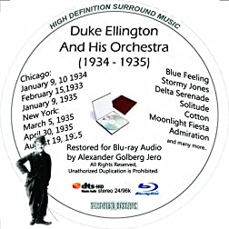 Duke Ellington And His Famouse Orchestra (1934-1935) Restored for Blu-ray Audio