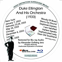 Duke Ellington And His Famous Orchestra (1933) Restored for Blu-ray Audio