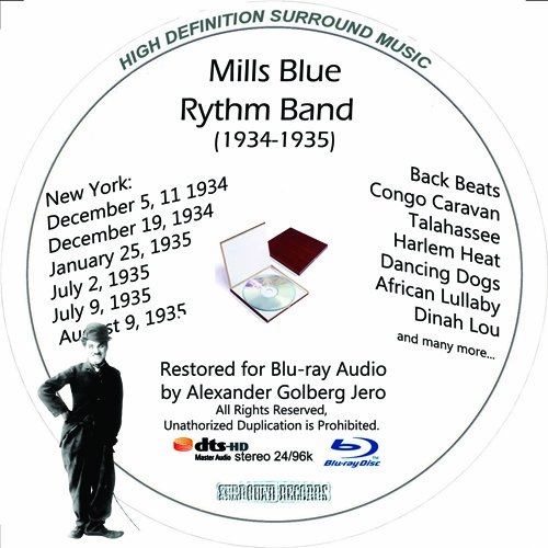 Mills Blue Rhythm Band (1934-1935) Restored for Blu-ray Audio