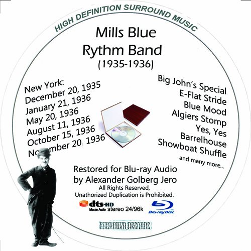 Mills Blue Rhythm Band (1935-1936) Restored for Blu-ray Audio