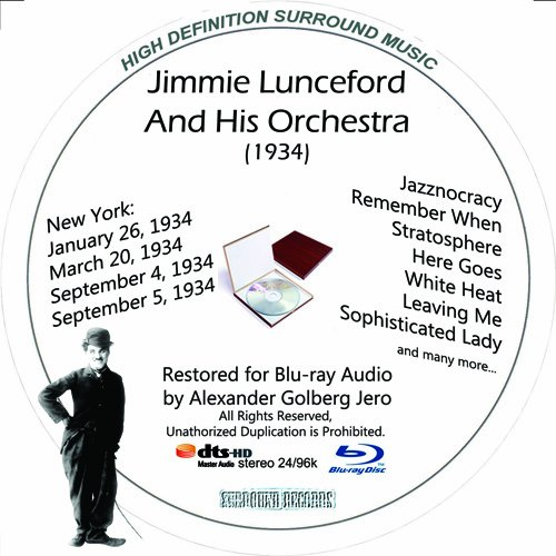 Jimmie Lunceford (1934) Restored for Blu-ray Audio