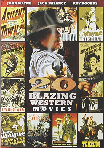 20 Blazing Westerns