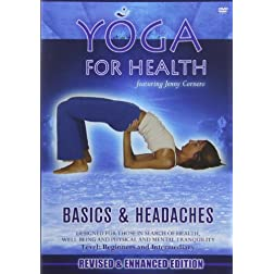 Yoga for Health: Basics &amp; Headaches