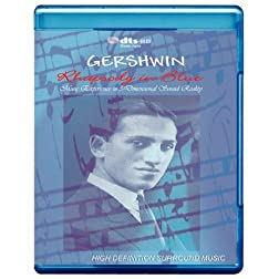 Piano Music Adventure, Custom Audio Art of Systematism: 'Jazz Milestones' Gershwin Rhapsody in Blue - Music Experience in 3-Dimensional Sound Reality [7.1 DTS-HD Master Audio Disc] [Blu-ray]