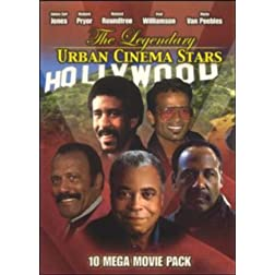 The Legendary Urban Cinema Stars - 10 Mega Movie Pack