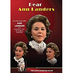 Dear Ann Landers: The Man Who Gives Advice to Ann Landers